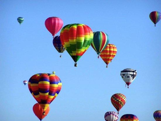 Flyga ballong